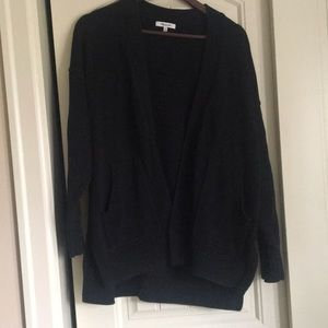 Madewell black cardigan sweater